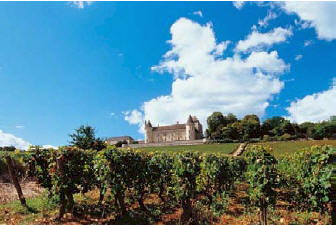 Rully on Tourist Route des Grands Vins de Bourgogne
