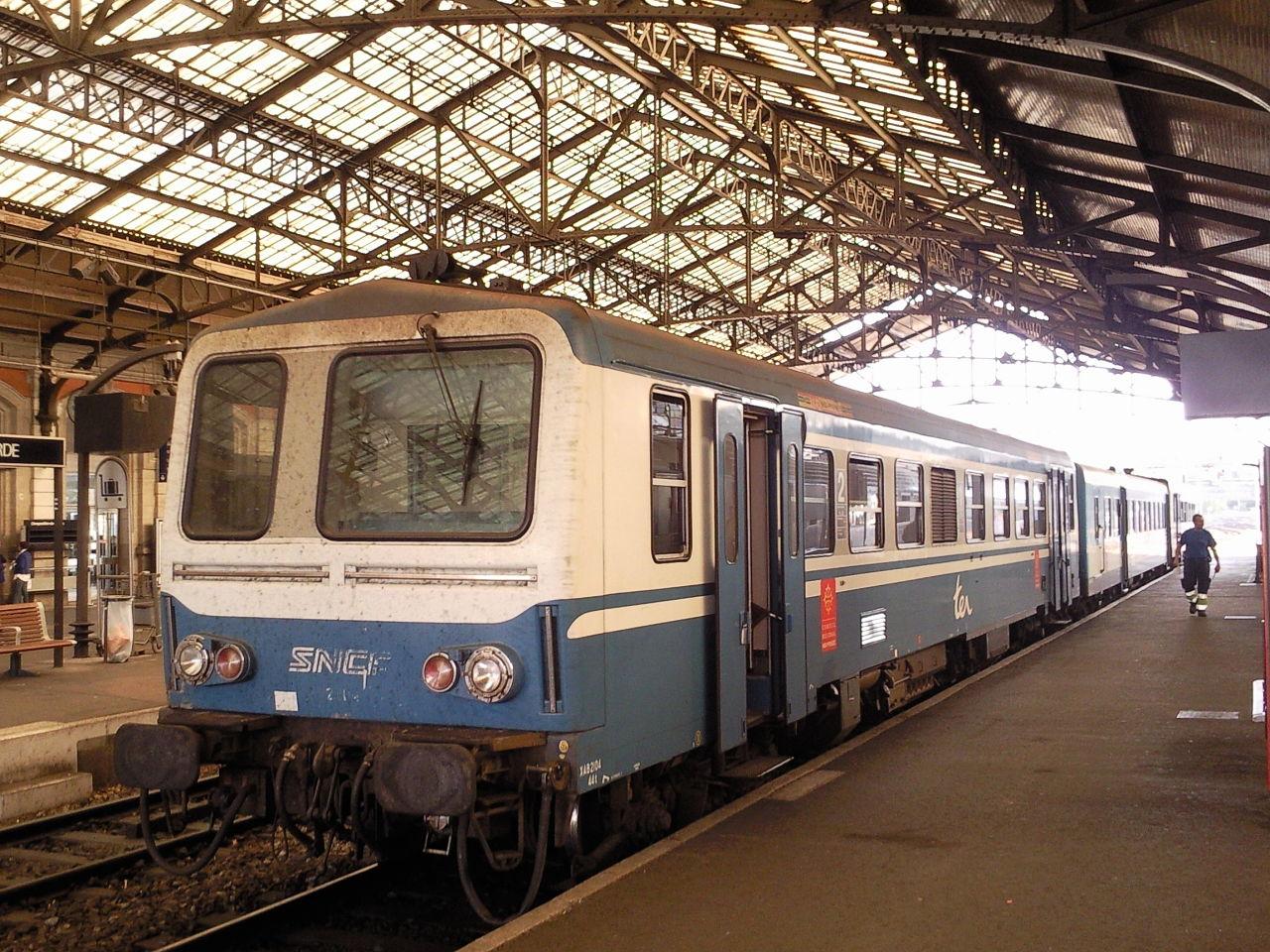 Brive-la-gaillarde-train-station