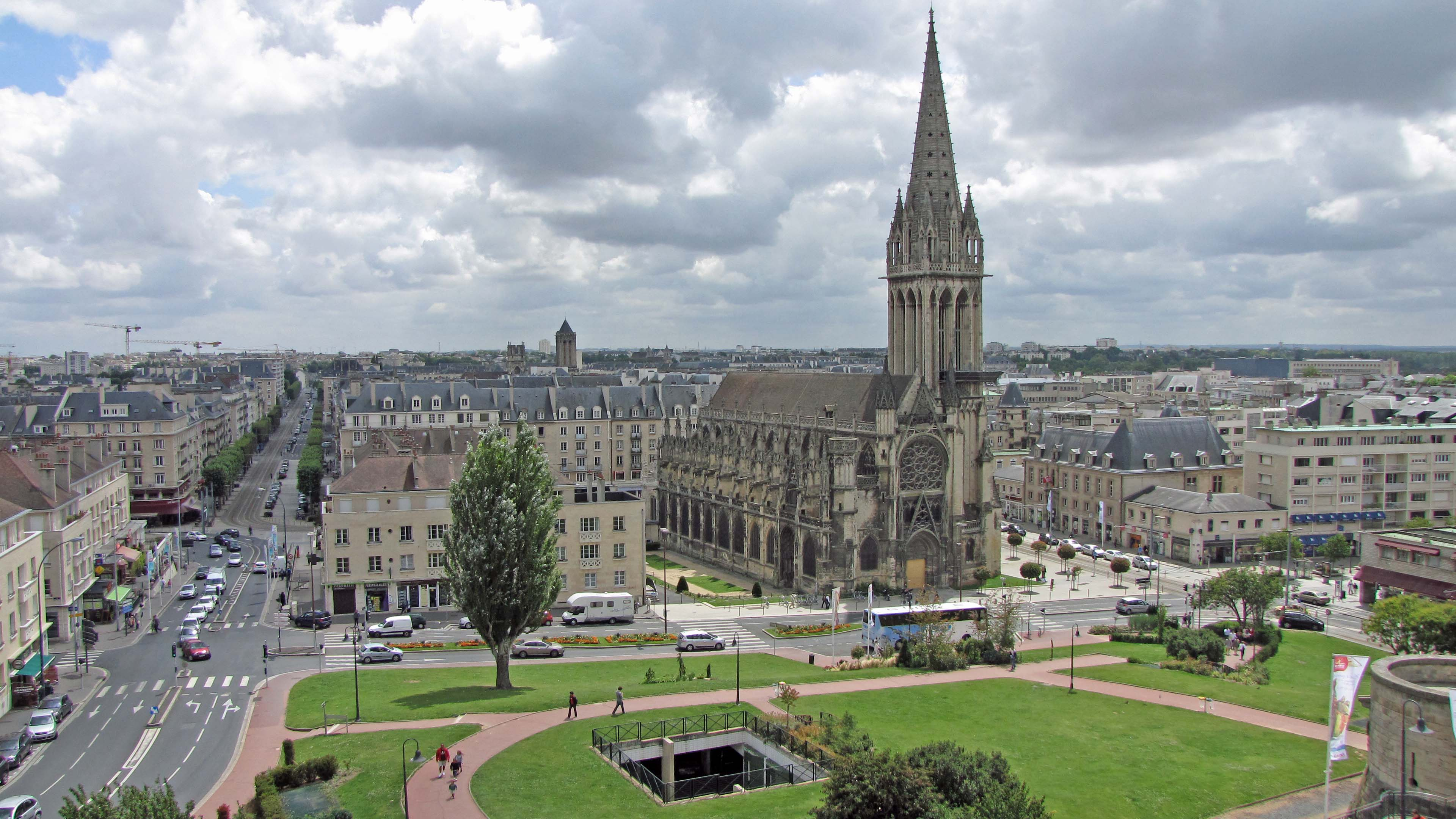 Caen-eglise-Saint-Pierre-church
