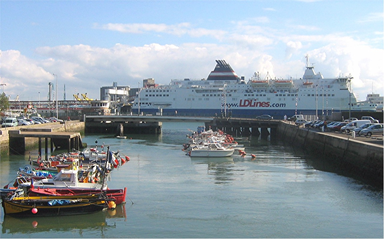 le havre ferry port bonjourlafrance helpful planning french adventure