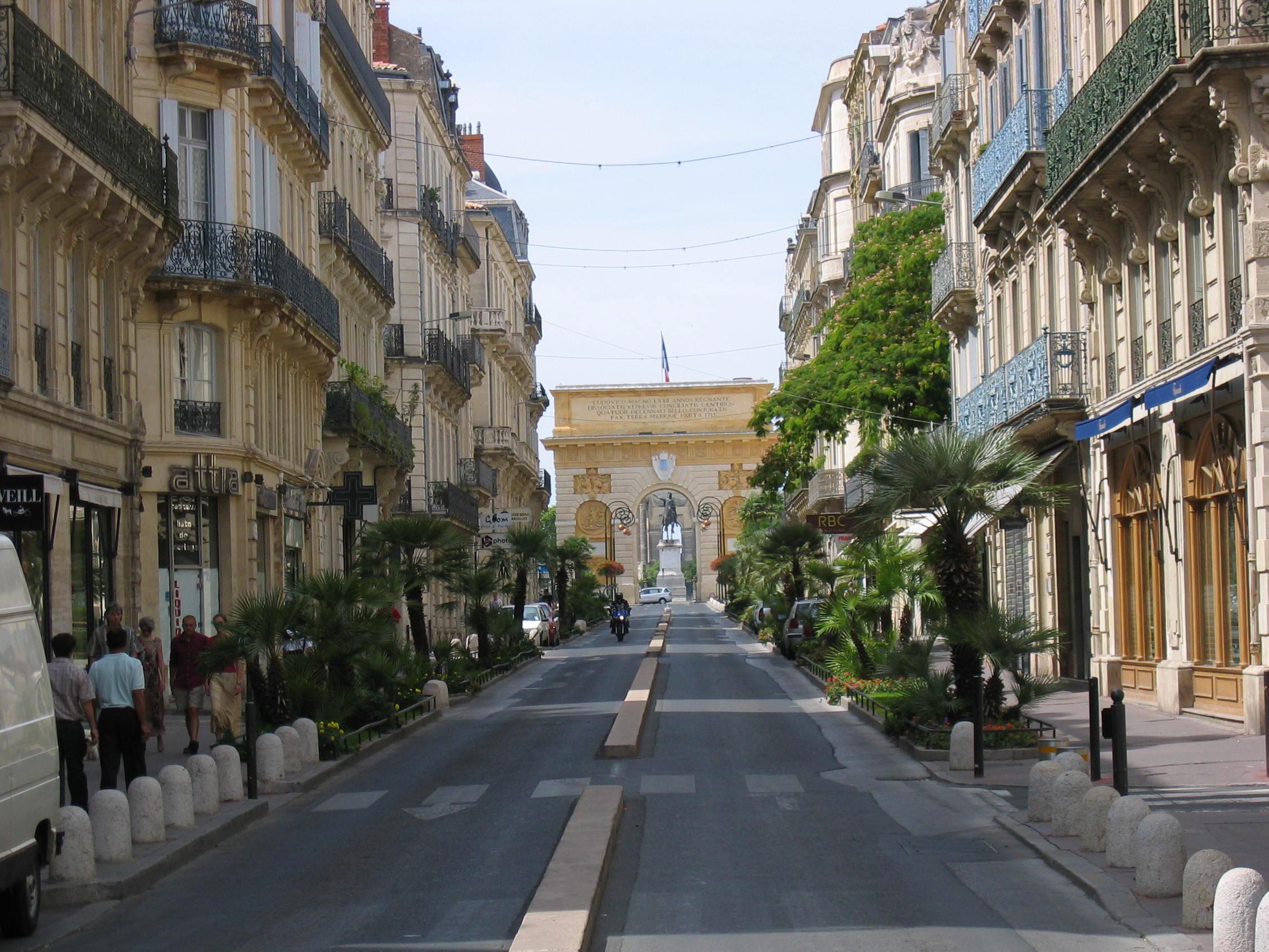 Montpellier-Arc-de-Triomphe