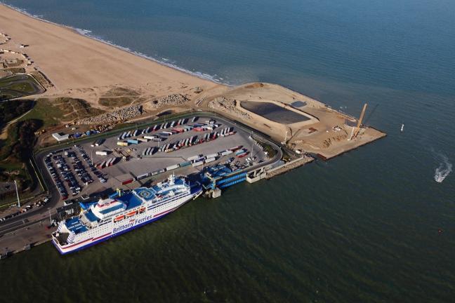 Ouistreham-Caen-ferry-terminal