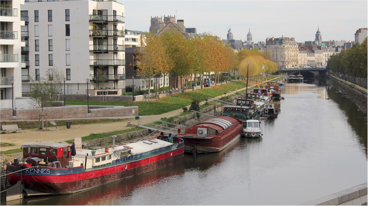 Rennes-La-Vilaine-River