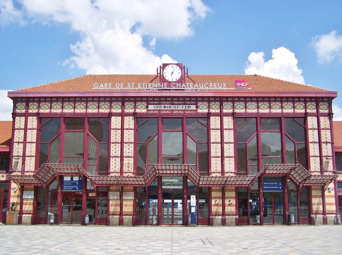 Saint-Etienne-Chateaucreux-train-station