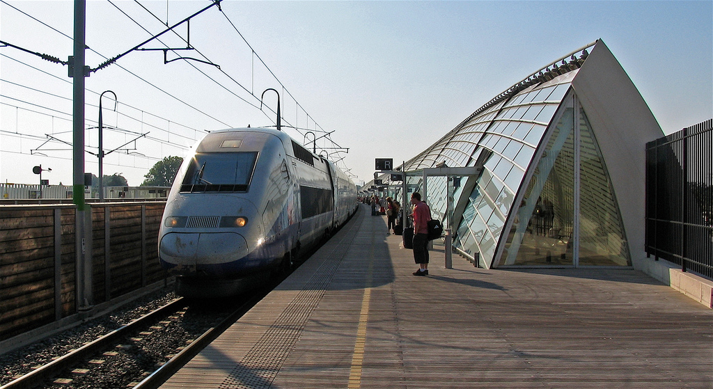 Gare D Avignon Tgv Train Station Bonjourlafrance Helpful Planning French Adventure