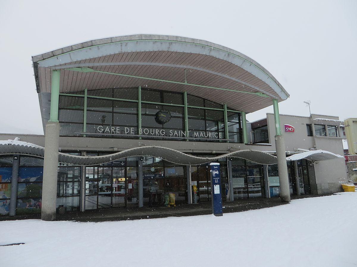 bourg-saint-maurice-train-station