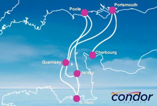 Condor-Ferries-routes