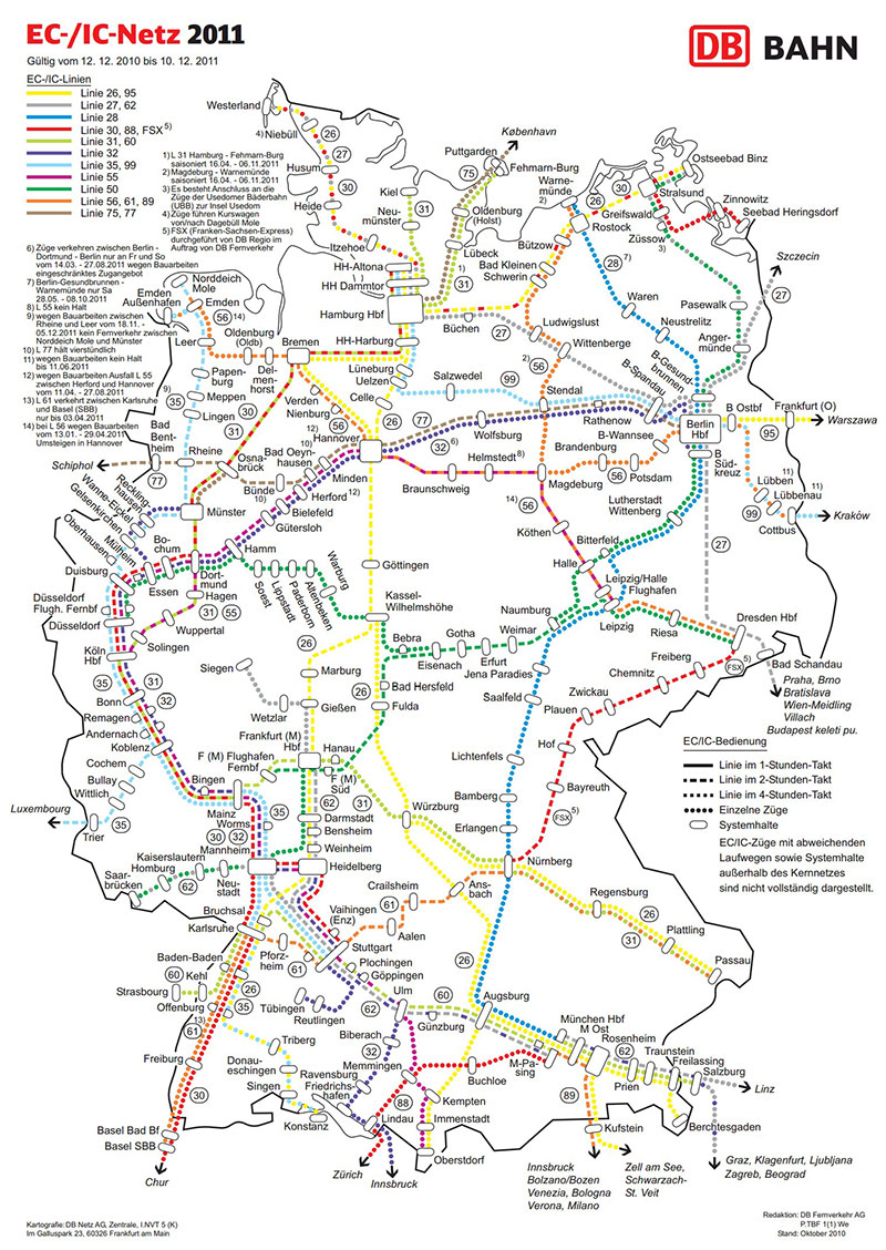 Germany-Eurocity-network-map