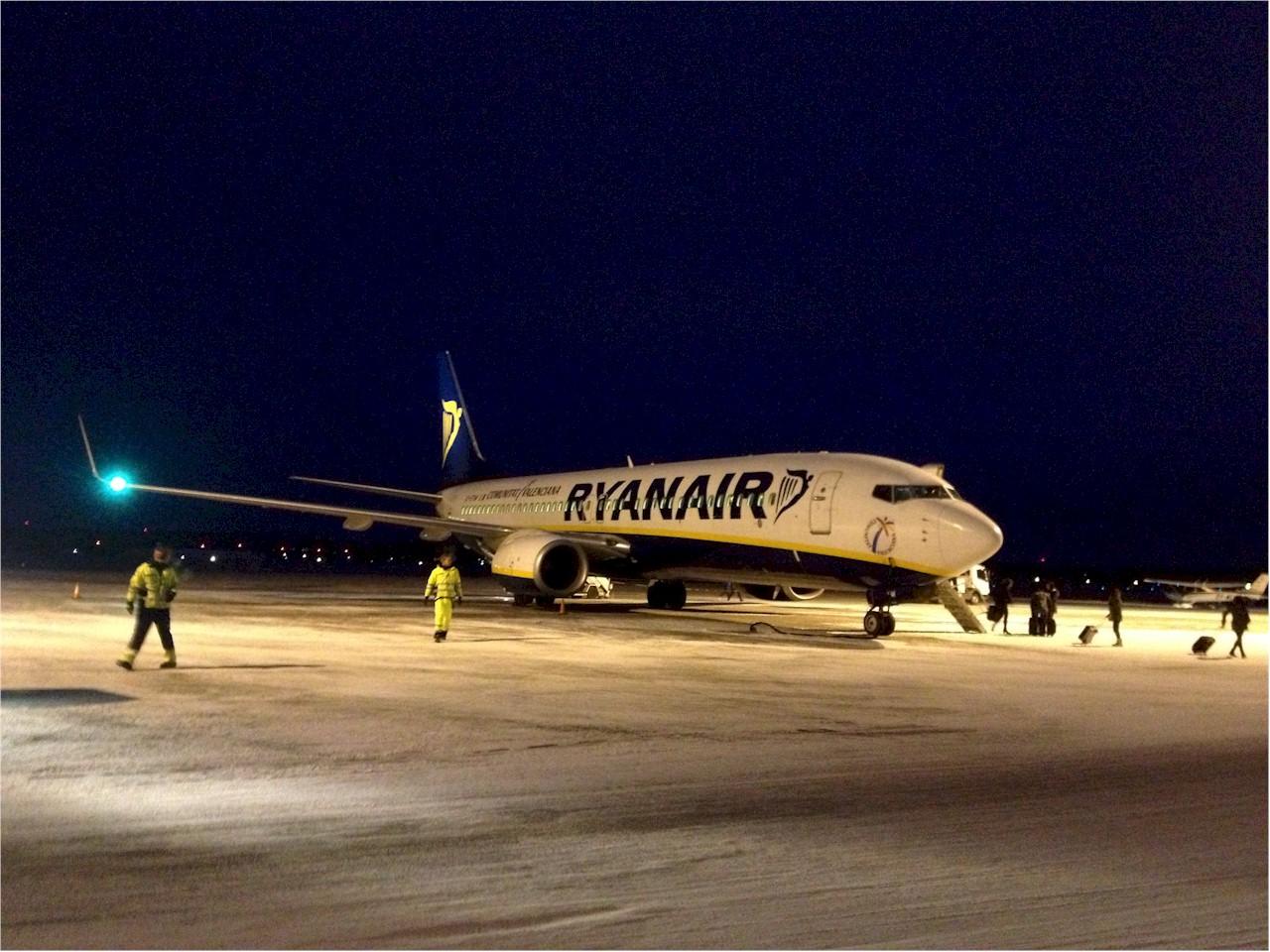 Ryanair-Rygge