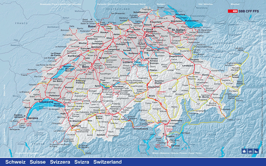Switzerland-Regional-train-network-map