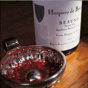Selling the year's wine harvest at the Beaune Hospice auction