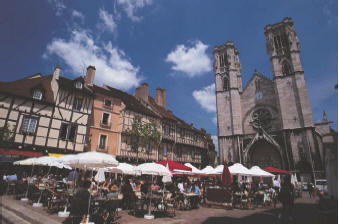Chalon-sur-Saone-Cathedral in France