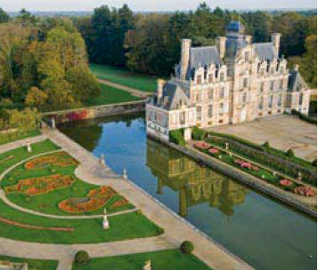 Splendid Chateau Gardens in Normandy