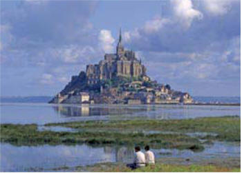 Mont St Michel, a UNESCO World Heritage site