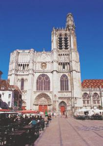 Sens, France, Saint-Stephen-Cathedral