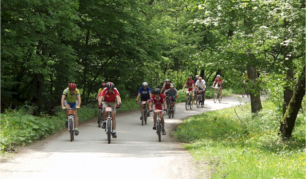 France sports activity - biking hike