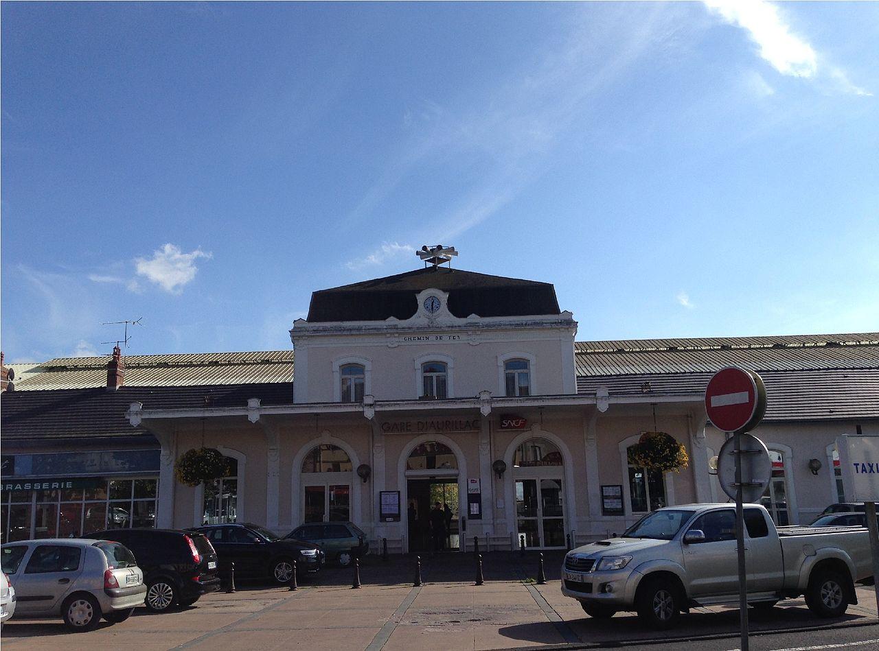 Aurillac-train-station