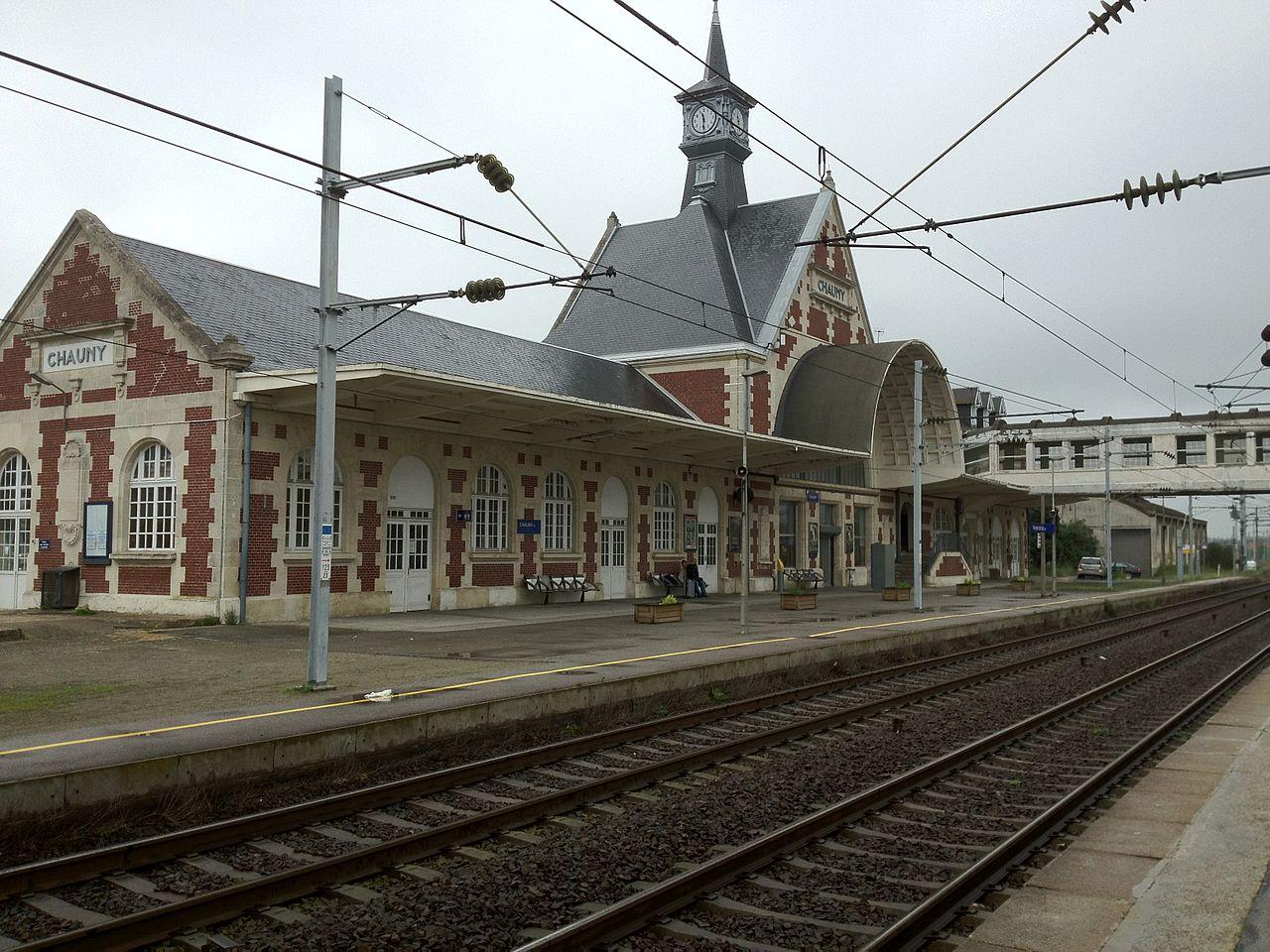 Chauny-train-station