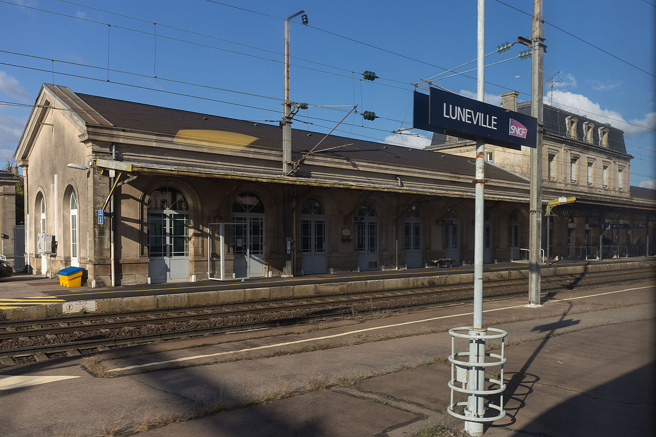 Luneville-train-station