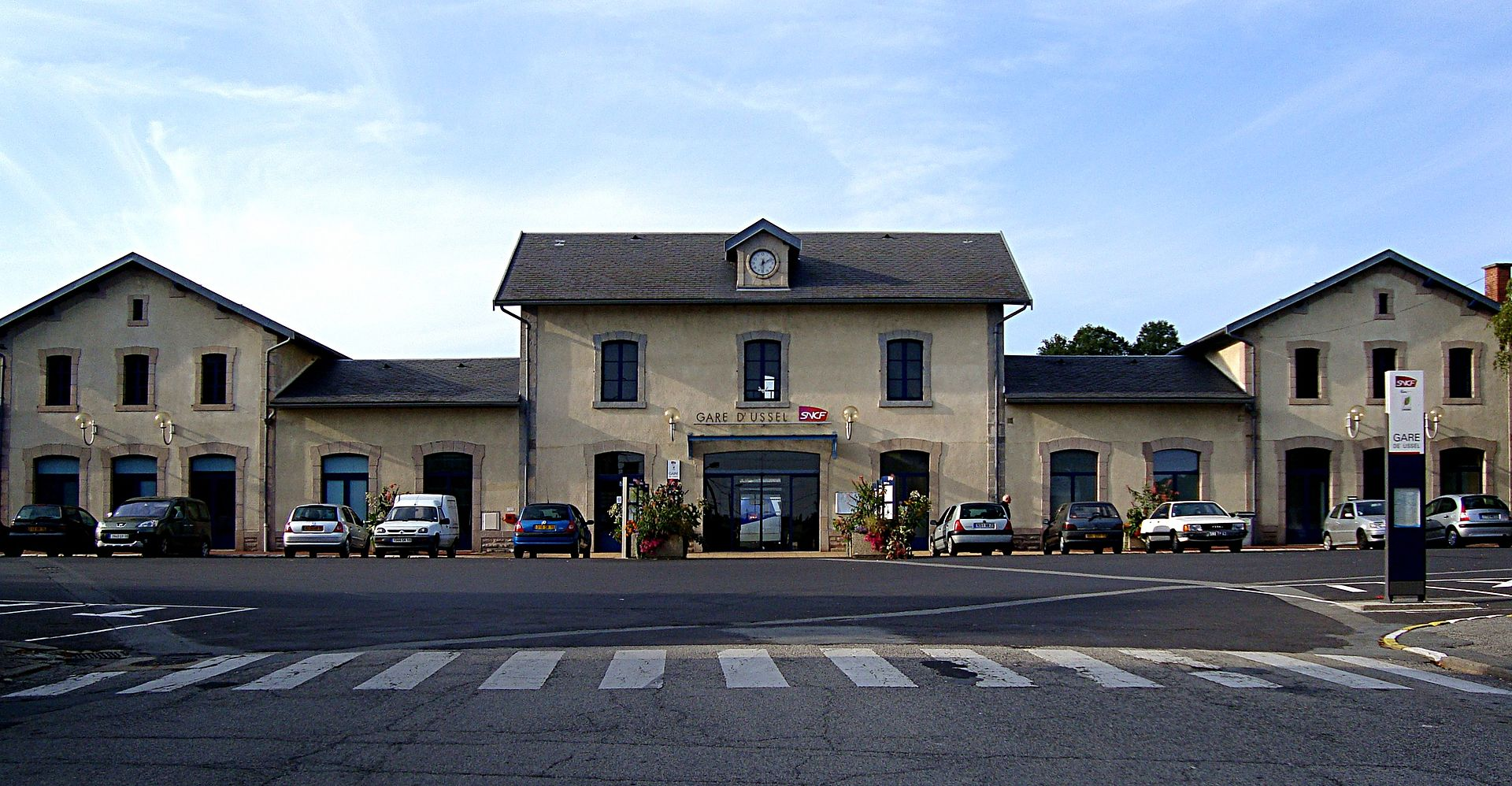 Ussel-train-station