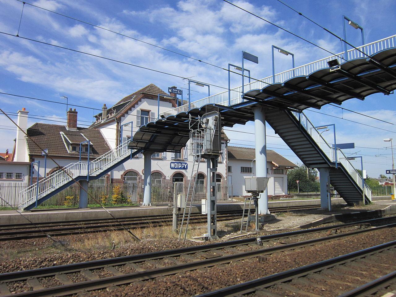 Woippy-train-station