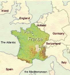 Map Of France And Europe.Maps Of France Bonjourlafrance Helpful Planning French Adventure