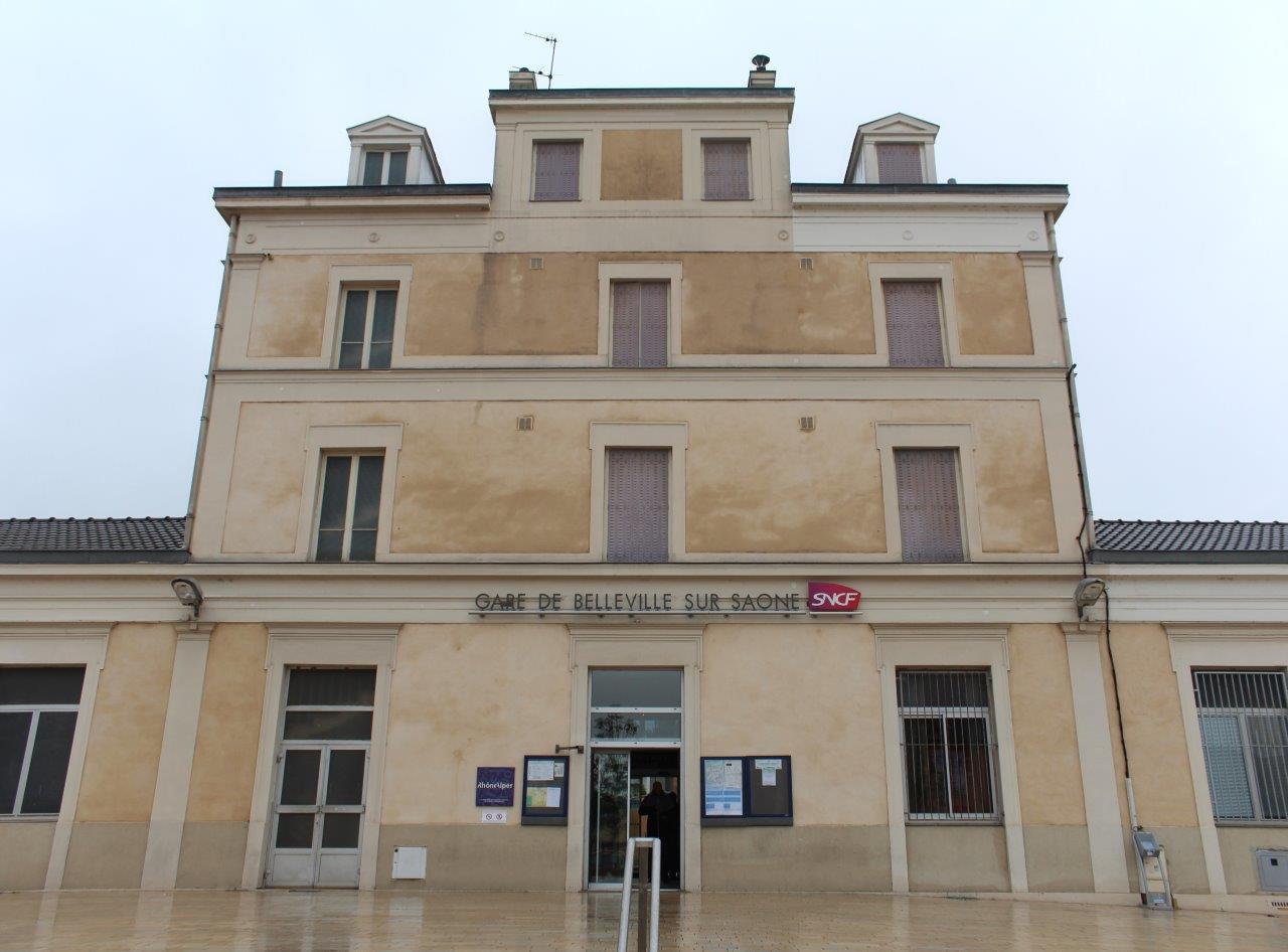 gare-de-belleville-sur-saone-train-station