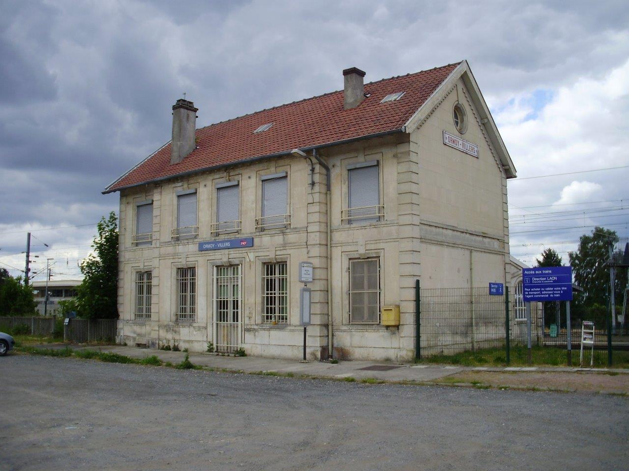 gare-d-ormoy-villers-train-station