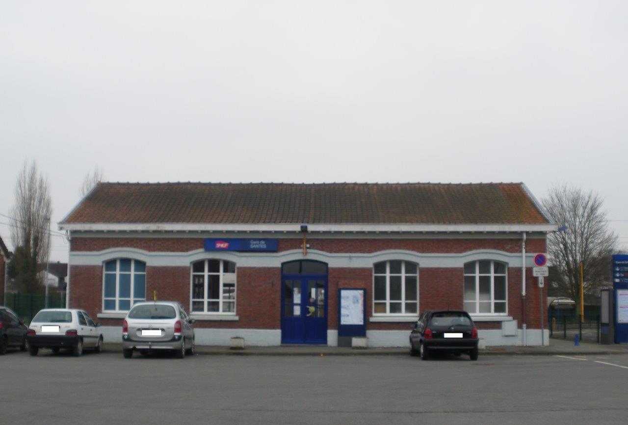gare-de-santes-train-station
