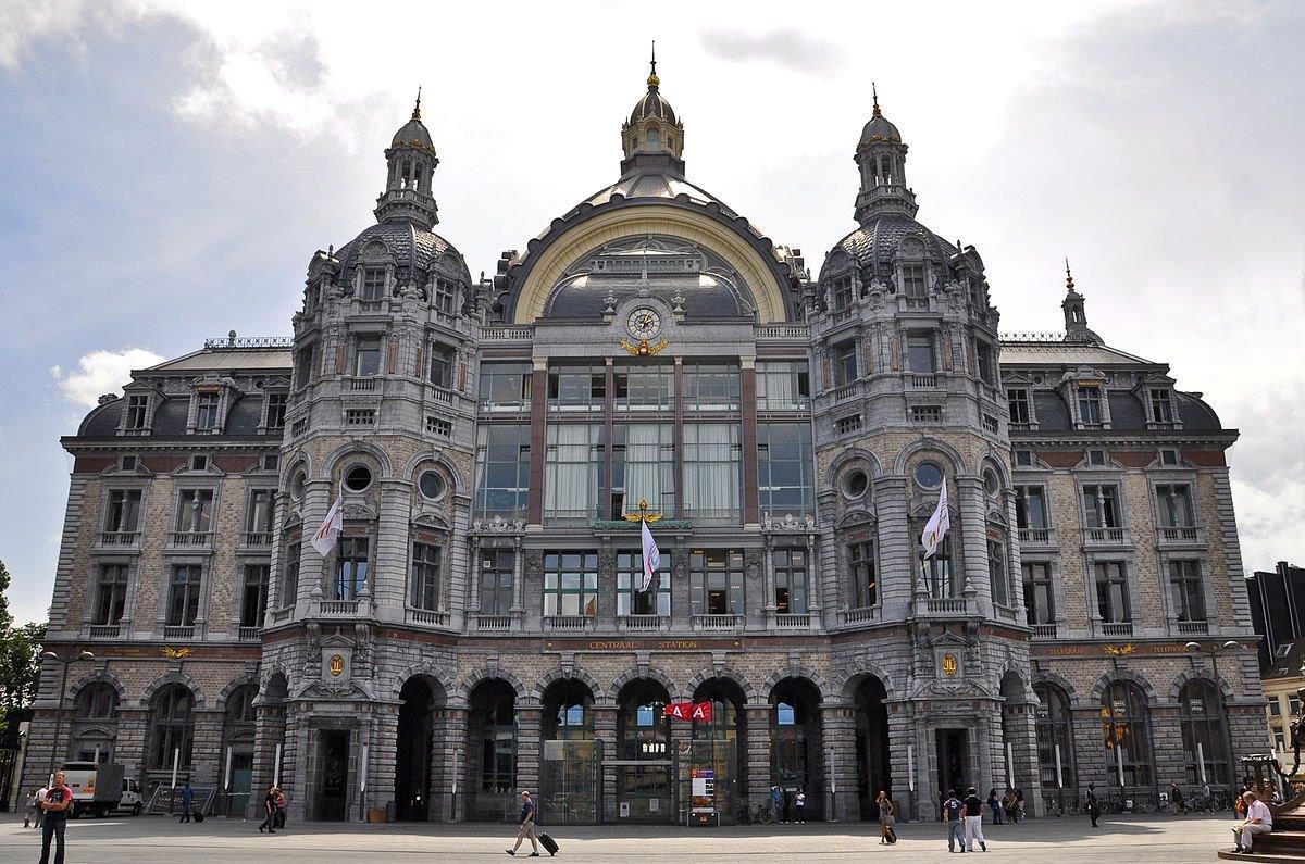 Antwerp-central-train-station