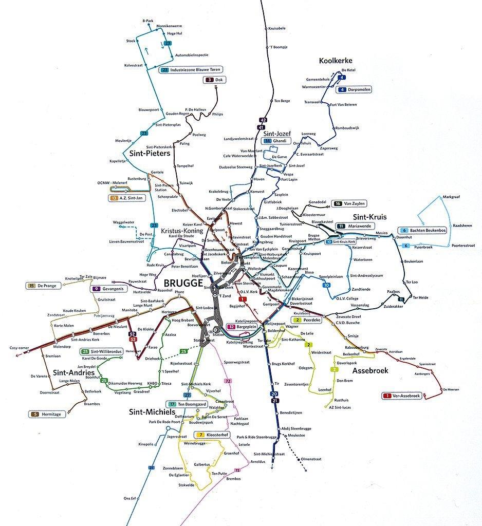 brugge-bus-network